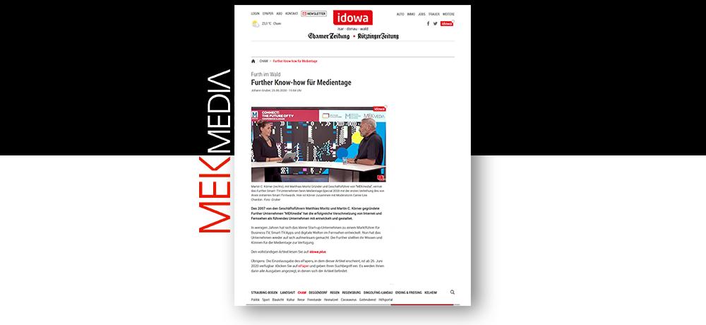 MEKmedia in Presse