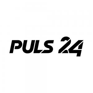 Puls 24 Logos BonW
