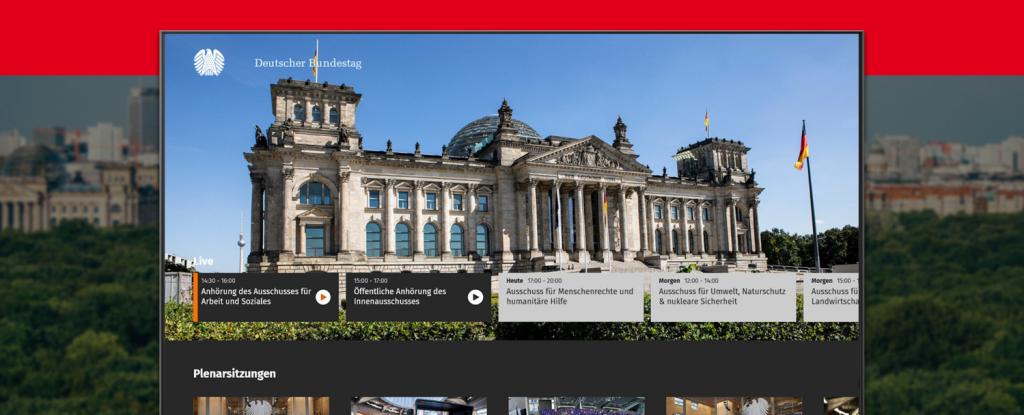 Deutscher Bundestag Smart TV